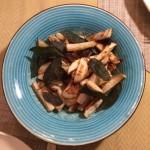 Fried turnip sticks with crispy sage