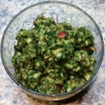 Apple Cilantro Salsa